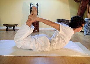 dhanurasana  samarpan physiotherapy clinic ahmedabad